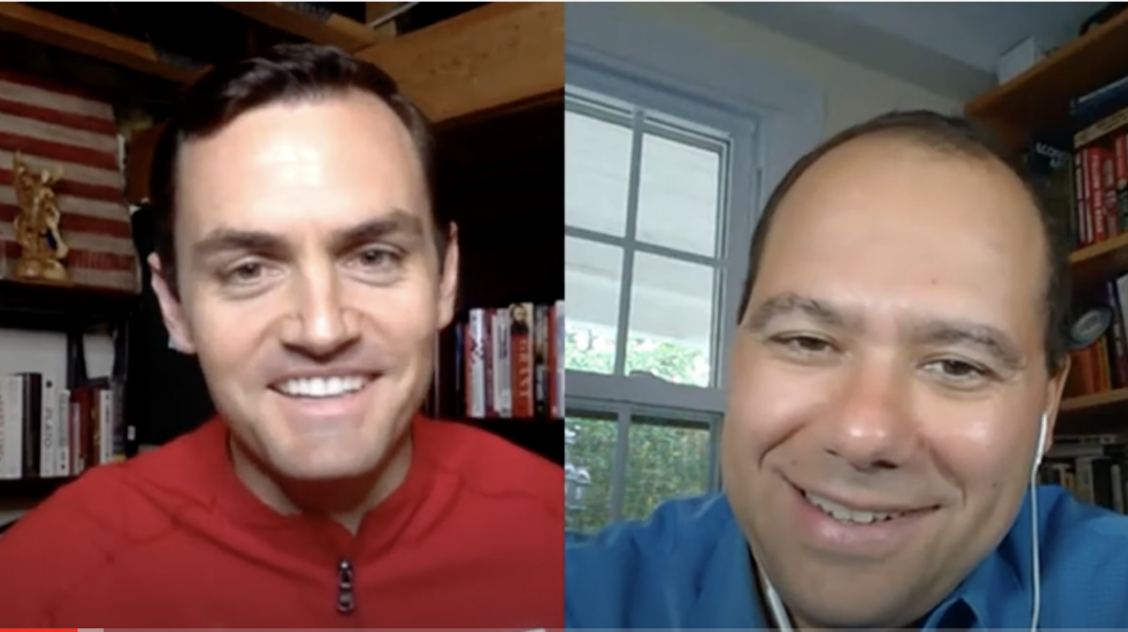 Rep. Gallagher hosts Ilya Shapiro on the NEW Look podcast