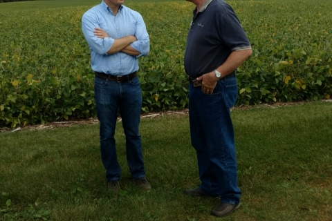 Rep. Gallagher save the bay field day 2017 with farm bureau